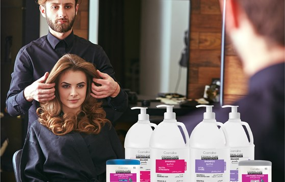 Cosmal Cure Professional extends line to include salon only collection