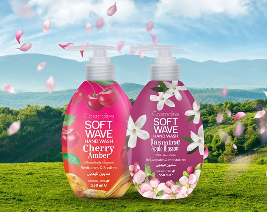 Cosmaline Launches 2 New Fragrantastic Soft Wave Hand Wash Scents