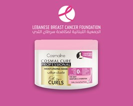 Proceeds From Newly Launched Oh My Curls Moisturizing Mask Donated To The Lebanese Breast Cancer Association