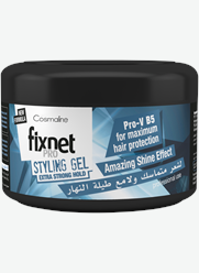 Fixnet Pro Styling Gel Extra Strong Hold Blue